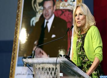 عقيلة نائب الرئيس الأمريكي تبرز بمراكش إنجازات المغرب في مجال تعزيز حقوق المرأة