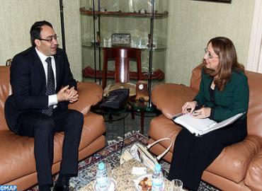 غلاب يتباحث مع نائبة الأمين العام للأمم المتحدة والمديرة المساعدة لبرنامج الأمم المتحدة الإنمائي