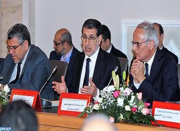 السيد العثماني: الحكومة معبأة للعمل على الاستجابة للحاجات الاقتصادية والاجتماعية للمواطنين بجهة طنجة – تطوان - الحسيمة