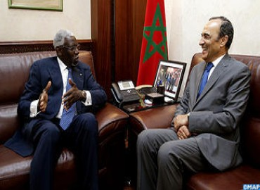 Speaker of Lower House Meets with Ambassador of Chad