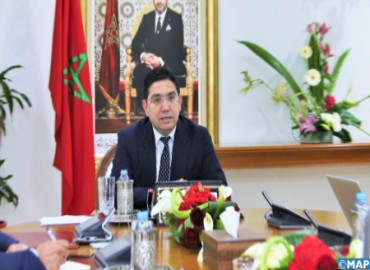 FM Holds Talks with Spanish Counterpart