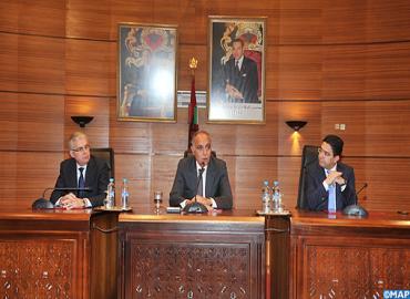 Installation de M. Nasser Bourita ministre délégué auprès du ministre des Affaires étrangères et de la Coopération