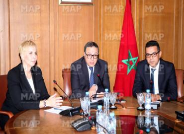 Installation de la présidente de l'Autorité marocaine du marché des capitaux