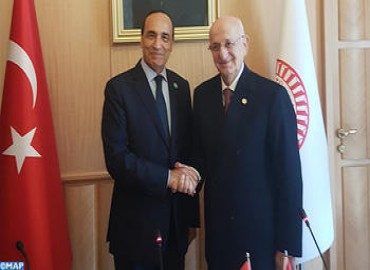 Turkish Parliament Speaker Lauds Relations between his Country and Morocco