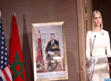 نص البيان المشترك الصادر عقب زيارة عمل السيدة إيفانكا ترامب مستشارة رئيس الولايات المتحدة للمغرب