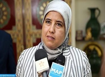 Mme El Moussali:L'INDH a donné une forte impulsion à l'action coopérative au Maroc