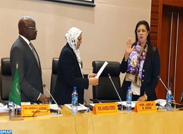 Morocco's Jamila Sedqi Takes Oath as New Judge at AU Administrative Tribunal