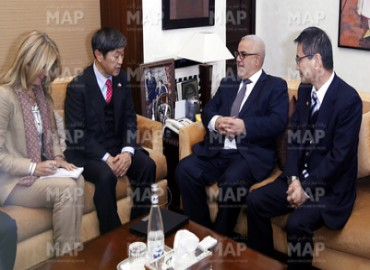 The President of Japan International Cooperation Agency Official Visit to Morocco