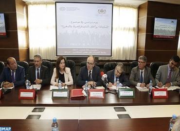 رئيس مجلس المستشارين  يشارك في  يوم دراسي حول تحديات وآفاق الديمقراطية بالمغرب