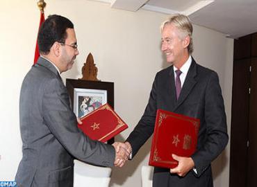 توقيع برنامج تعاون في مجال الإعلام والاتصال الحكومي بين المغرب وبريطانيا