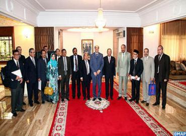 رئيس مجلس الشيوخ الماليزي في زيارة عمل إلى المغرب