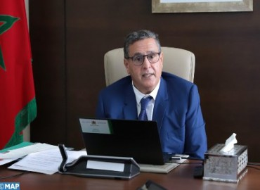 Akhannouch Outlines Main Commitments of His Government for 2021-2026