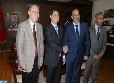 Examen à Rabat des moyens de renforcer la coopération maroco-chinoise dans le domaine médiatique