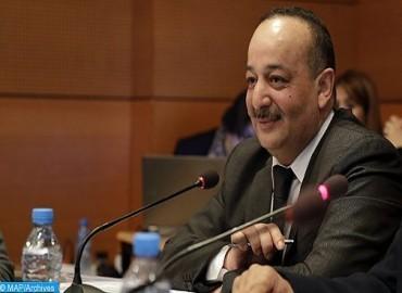 السيد الأعرج يتباحث مع نظيرته المصرية حول سبل الارتقاء بالتعاون الثنائي في المجال الثقافي