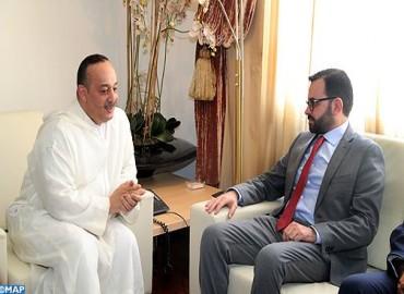 Le renforcement de la coopération culturelle au centre d'entretiens maroco-palestiniens à Rabat