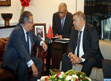 El ministro español del Interior visita Marruecos