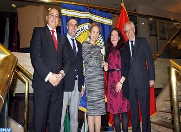 Lalla Joumala Alaoui s'entretient avec la Présidente du National Press Club de Washington