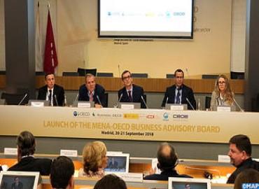 Inaugurado en Madrid el Consejo Asesor Empresarial MENA-OCDE con la participación de Marruecos