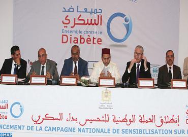 Lancement de la campagne nationale de sensibilisation sur le diabète