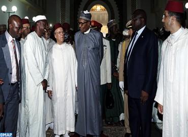 الرئيس النيجيري يزور معهد محمد السادس لتكوين الأئمة المرشدين والمرشدات