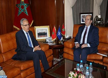 Moroccan Senior Official Receives NATO´s Assistant Secretary General for Emerging Security Challenges
