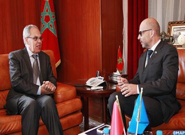 Moroccan Defence Official Meets UN Regional Humanitarian Coordinator For Sahel
