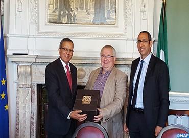Le Secrétaire d'Etat chargé du développement rural en visite de travail à Dublin