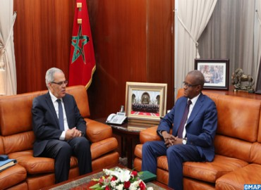 Loudyi Receives Permanent Secretary of G5 Sahel Maman Sambo Sidikou