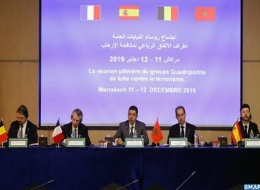 انعقاد الجلسة العامة لمجموعة الاتفاق الرباعي للنيابات العامة المتخصصة في مكافحة الإرهاب