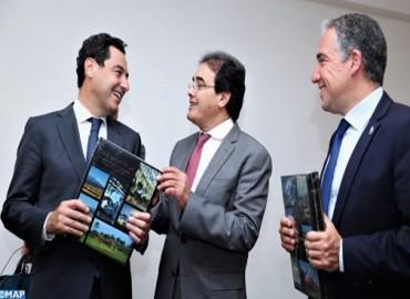 La consolidation de la coopération maroco-andalouse au centre d'entretiens entre M. Benatiq et M. Moreno