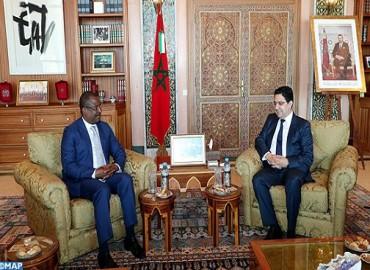 El presidente de la Asamblea Nacional de Santo Tomé y Príncipe impresionado por el desarrollo de las provincias del sur del Reino