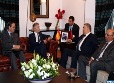 Interior Minister Holds Talks in Rabat with Spanish Counterpart