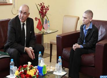 السيد الضريس يجري محادثات مع منسقة مكافحة الإرهاب بوزارة الشؤون الخارجية الأمريكية