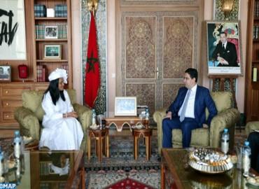 La ministre bissau-guinéenne des Affaires étrangères en visite de travail  au maroc