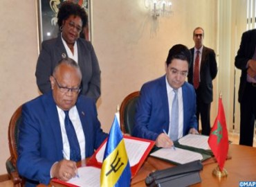Morocco, Barbados Eager to Coordinate Actions to Promote Cooperation Between Africa and Caribbean Countries, Joint Statement