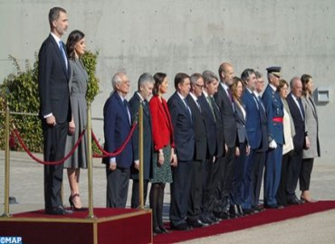 Spanish Sovereigns Leave Spain for Official Visit to Morocco