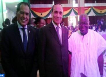 السيد المالكي يمثل جلالة الملك في احتفال جمهورية غانا بعيد استقلالها الستين