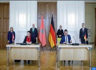 Le Maroc et l'Allemagne signent un accord de coopération dans le domaine de l'hydrogène vert