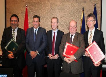 توقيع اتفاقيتي شراكة في المجال الفلاحي والصناعة الغذائية بين المغرب وفرنسا