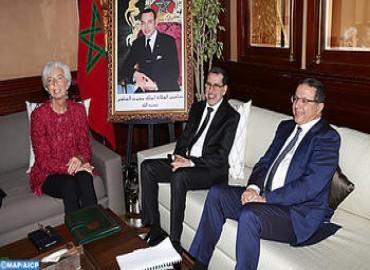 أشادت المديرة العامة لصندوق النقد الدولي السيدة كريستين لاغاراد، بالإصلاحات التي قام بها المغرب في شتى المجالات ولاسيما في الميدان الاقتصادي.
