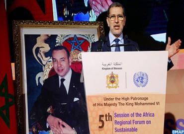 El Otmani reafirma el compromiso de Marruecos con la nueva dinámica mundial para el desarrollo sostenible