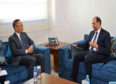Jazouli se reúne en Rabat con el viceministro chino de AA.EE. sobre los medios de fortalecer la cooperación bilateral y chino-africana