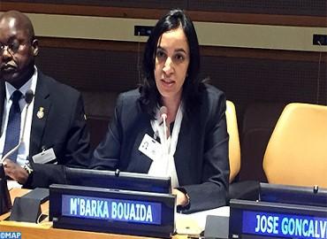 Mme Bouaida présente à New York les contours et les perspectives du Plan Halieutis