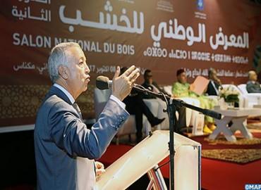 افتتاح الدورة الثانية للمعرض الوطني للخشب بمكناس