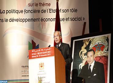 Assises nationales sur ''la politique foncière de l'Etat et son rôle dans le développement économique et social''