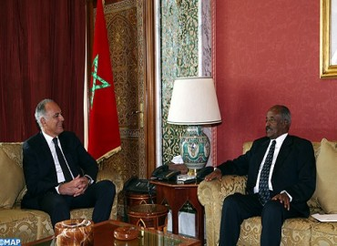 Mezouar Receives Eritrean Foreign Minister, Carrying Message from Eritrean President to HM the King
