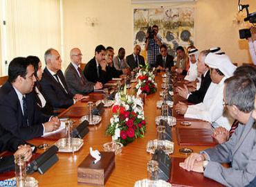 Les derniers développements dans le monde arabe au centre d'entretiens de M. Mezouar avec des ambassadeurs arabes