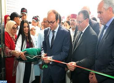 إعطاء الانطلاقة الرسمية لخدمات المستشفى الجديد بالقصر الكبير