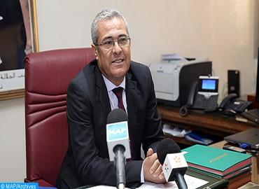 Réunion à Rabat consacrée à l'examen des moyens de réviser le décret relatif aux inspections générales des différents départements ministériels