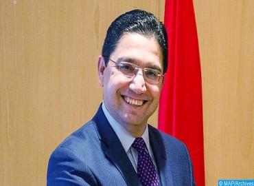 السيد ناصر بوريطة يسلم رسالة خطية من جلالة الملك إلى الرئيس الغاني